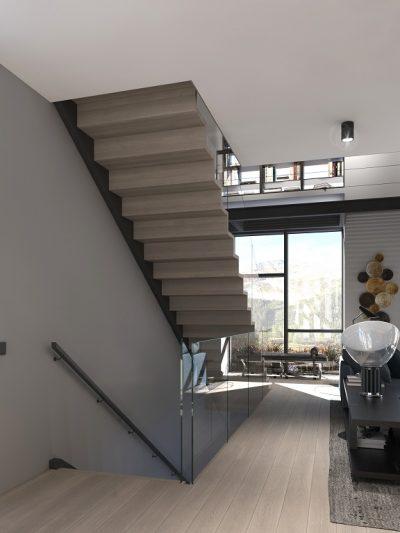 stilig modern trapp modell X13. Xtrapp