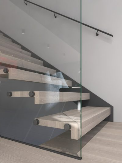 Moderne trapper. Svevende trinn. Xtrapp
